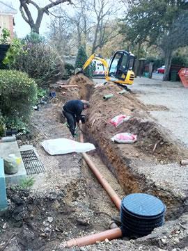VOLO Drainage Installation