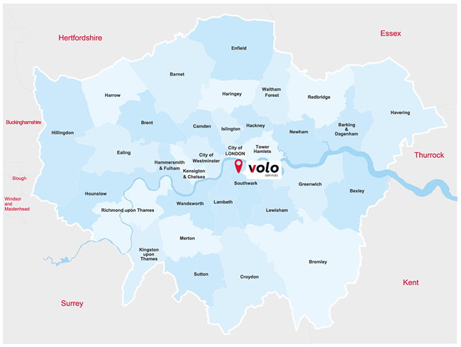 Volo Drainage, Pest Control and Plumbing operate in the South East covering London and the home counties